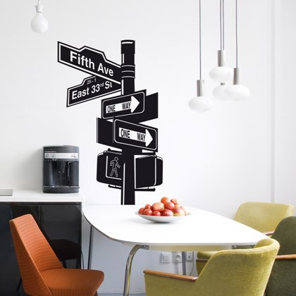 New york fanastick cr ateur de stickers for Decoration bureau new york